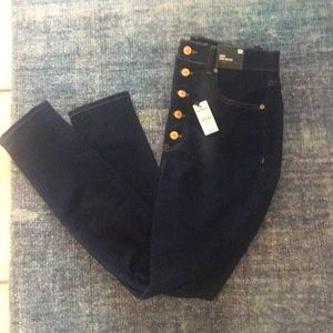 NWT Express Skinny Super High Rise Jeans Size 10